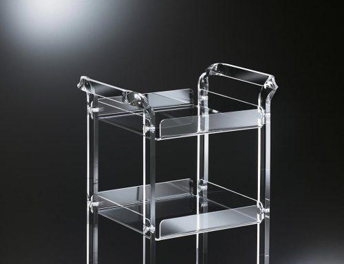 Backstage-Tutorial fotografia di Still life ad oggetti di Design in Cristallo Acrilico