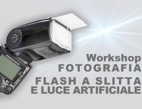 Workshop Flash a slitta e Luce artificiale