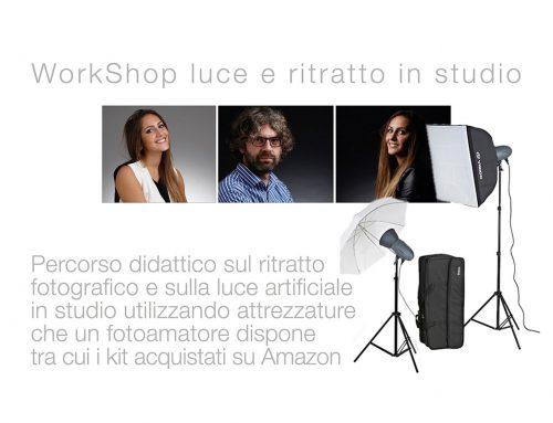 WorkShop Luce e Ritratto in studio