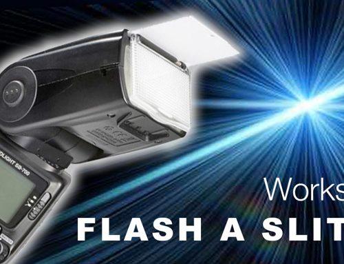 Workshop Flash a slitta Torino 19 maggio 2018