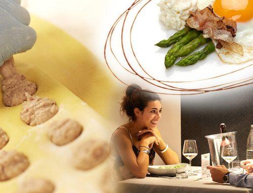 Fotografia di food: cibo e ambienti per il ristorante L'Escalier-Pecetto