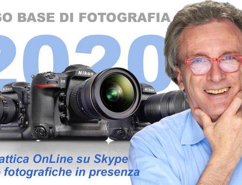 Corso di Fotografia a Torino da giovedì 22 ottobre 2020